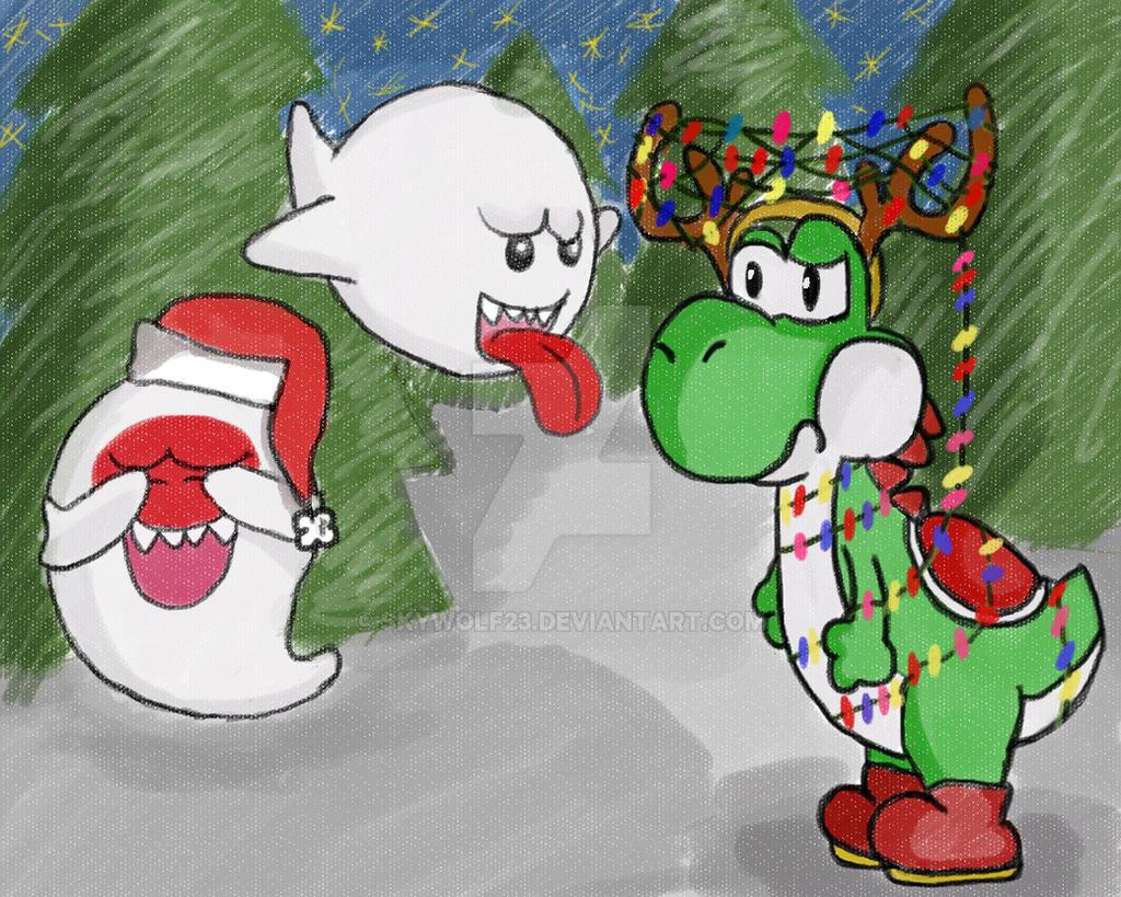 Nintendo Christmas by SkyWolf23 on DeviantArt