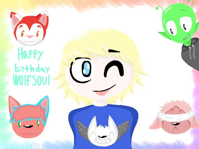Happy Birthday!!! by shapeshifthate