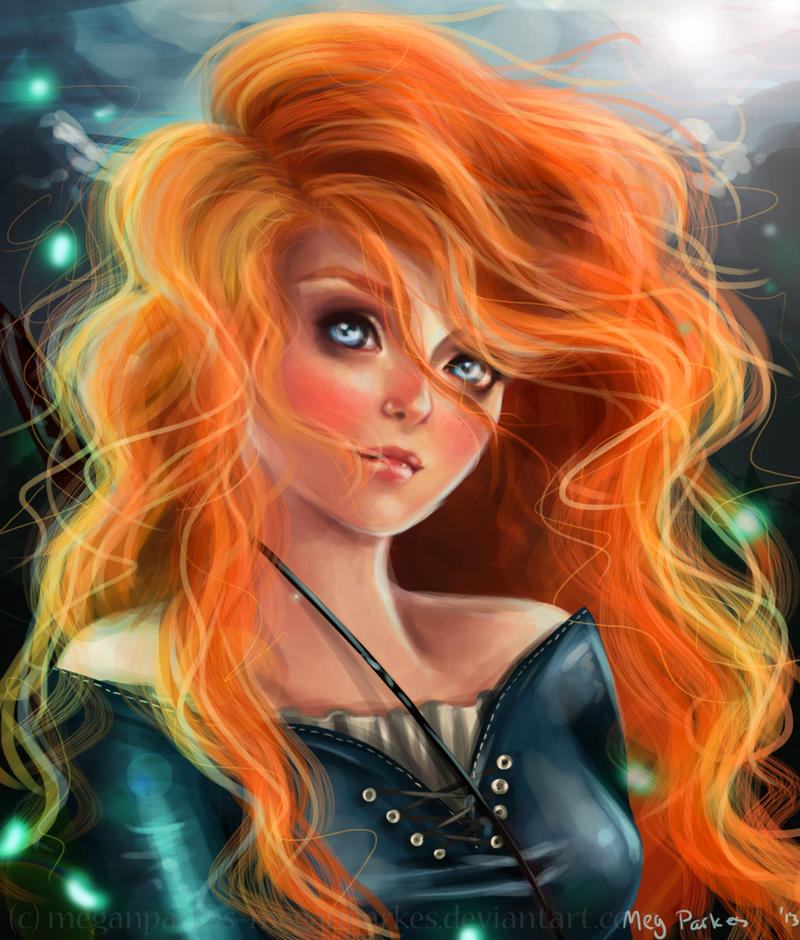 Brave - Merida by meganparkes