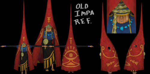 Old Impa Reference by ShrubbyNerb
