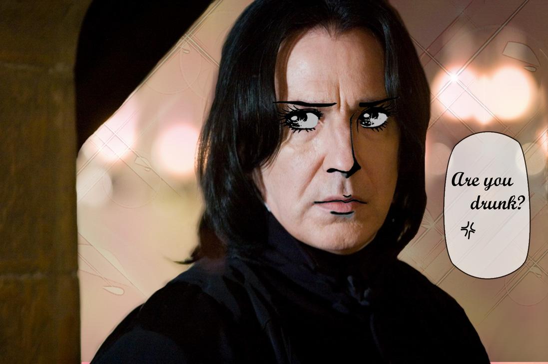 Severus Sensei by korurea-kanai
