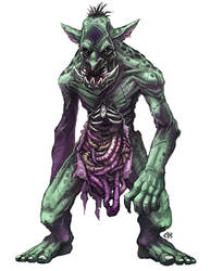 Undead Troll by Patmos