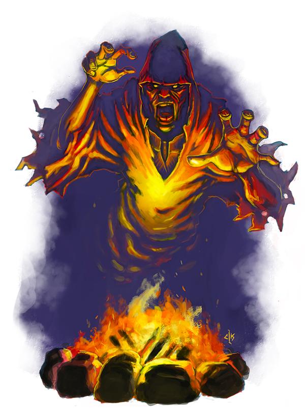 Wayfinder15 Hearth Wraith by Patmos