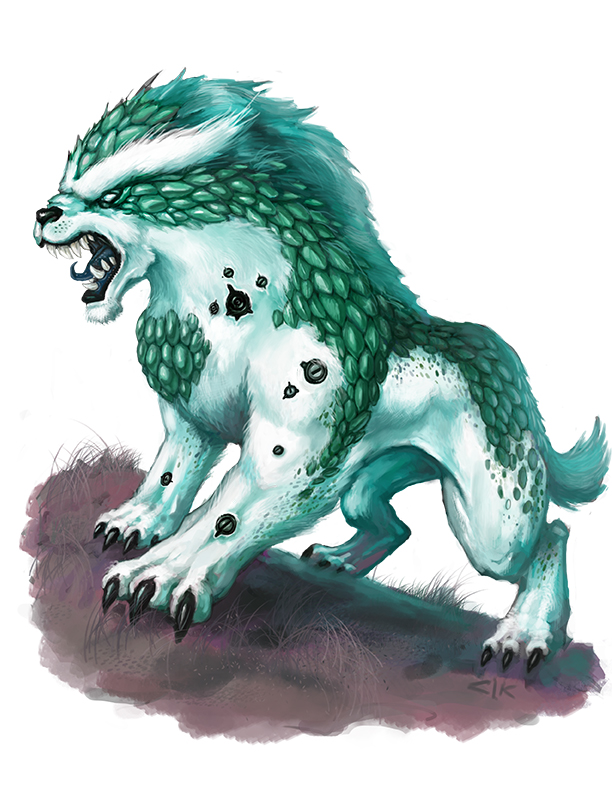 Legendary Klaven War Beast by Patmos