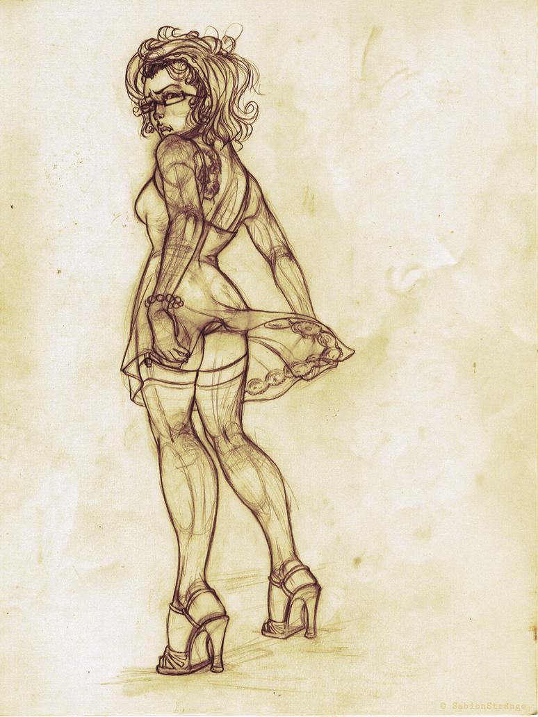 connie sketch by SabienStrange