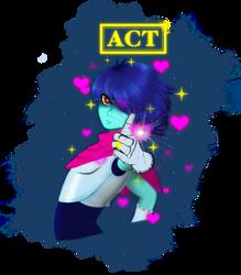 Deltarune Frisk+Act