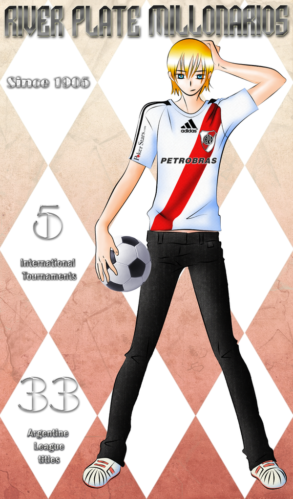 Futbol River Plate Fan by La renegada River Plate [Imagenes en general]