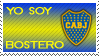 Boca juniors Stamp by La-renegada