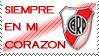 River plate Stamp by La-renegada