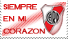 River plate Stamp by La-renegada