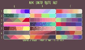 mini limited palette sheet