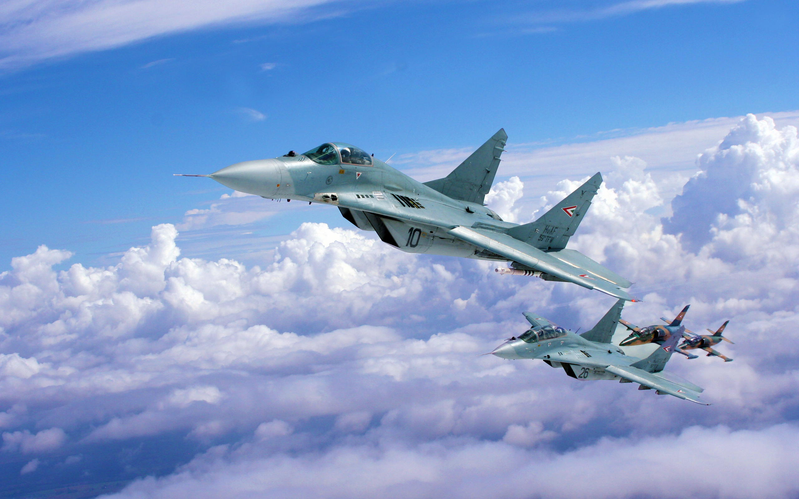 Hungarian Air Force MiG-29s by uflinks2 on DeviantArt