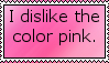Dislike Pink by Mistress-0f-Dragons