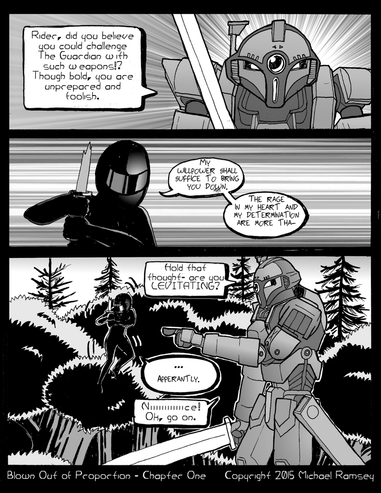 Conflict Theory 009 ''Is This Just Fantasy?'' by Boba-Fettuccini