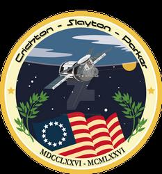 Skylab US Bicentennial 1776-1976 patch