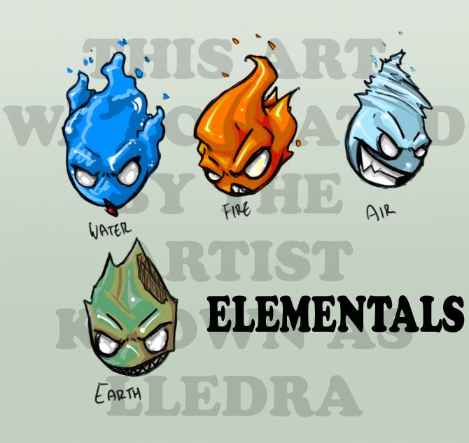 Elementals by lledra