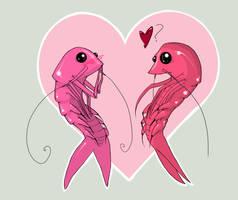 Prawn Love by lledra