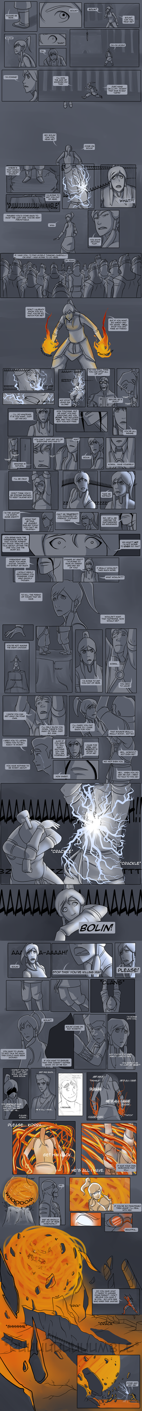 Legend of Korra - Avatar State Comic :Oneshot: by lledra