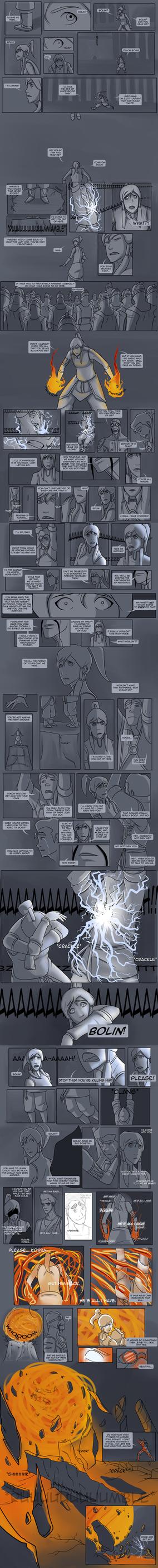 Legend of Korra - Avatar State Comic :Oneshot: by lledra