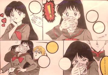 Cloroformo: Ray (Sailor Marte)/Color/Terminado. by Dxmian