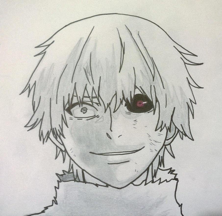 dessin manga tokyo ghoul