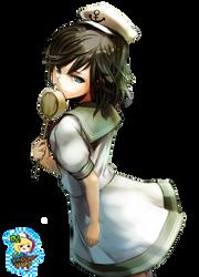 Anime Marine Girl -Render- by ChocoMAD