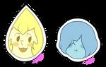 Diamond's Pearls Stickers