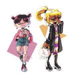 Fashionable Gals 1