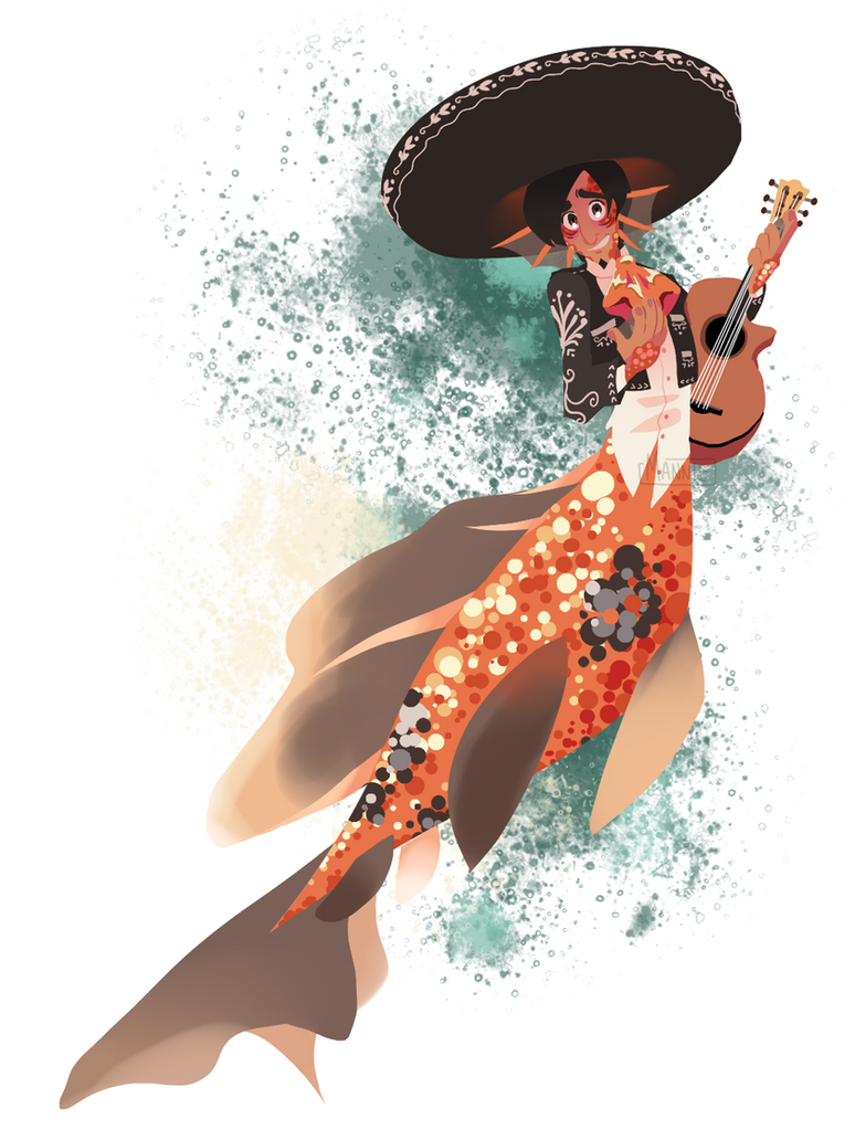 It is weird to combine MerMay with Cinco De Mayo by Mannievelous