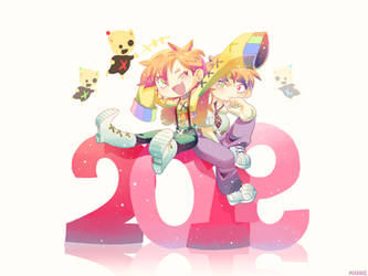 New Year by Mannievelous