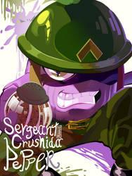 Sergeant Crushida Pepper by Mannievelous