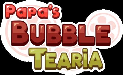Papa's Bubble Tearia logo