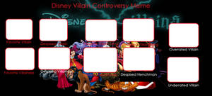 Disney Villain Controversy Meme