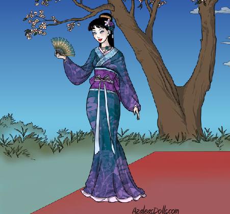 Random Kimono 1 by OperaticAnimeNimue