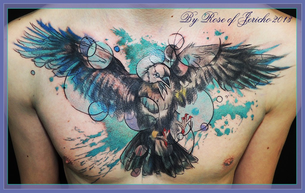 splash of colors tattoo pictures to pin on pinterest