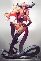 devil by Akaggy