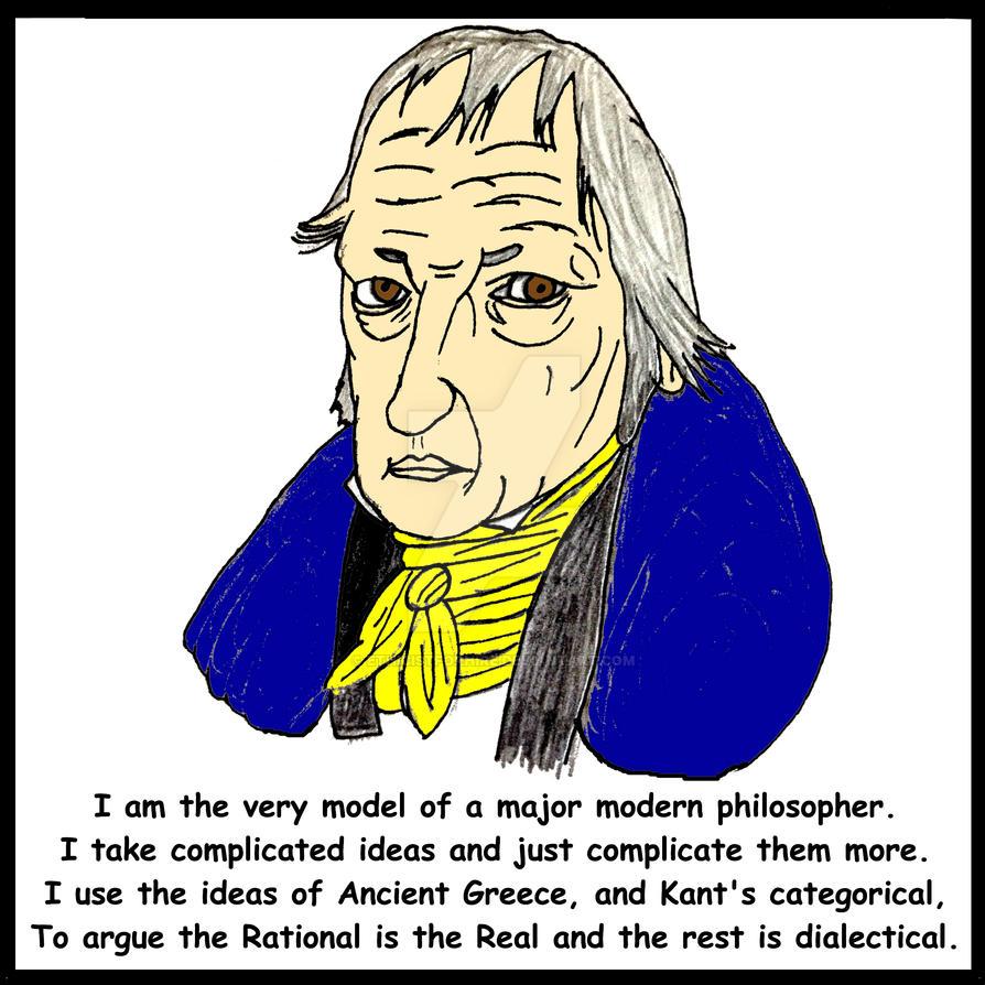 Major Modern Philosopher by ethicistforhire