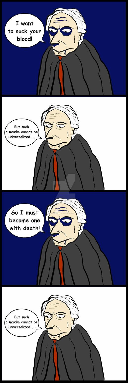 The Curse of Kant Dracula