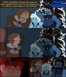 hands off my precious blue wife by LiaAmethyst