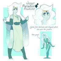 Ocean Paradise Diamond - commission
