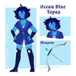 Ocean Blue Topaz - gift