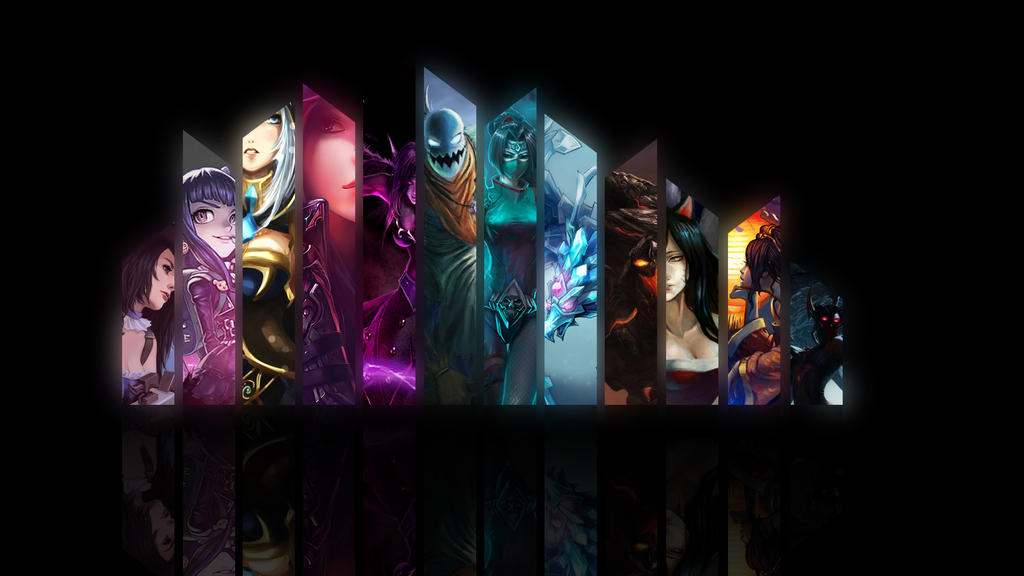 League Of Legends by CultOfTurtles