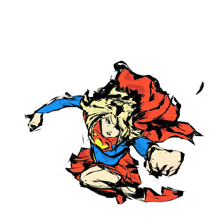 Super Girl by KitCassaday