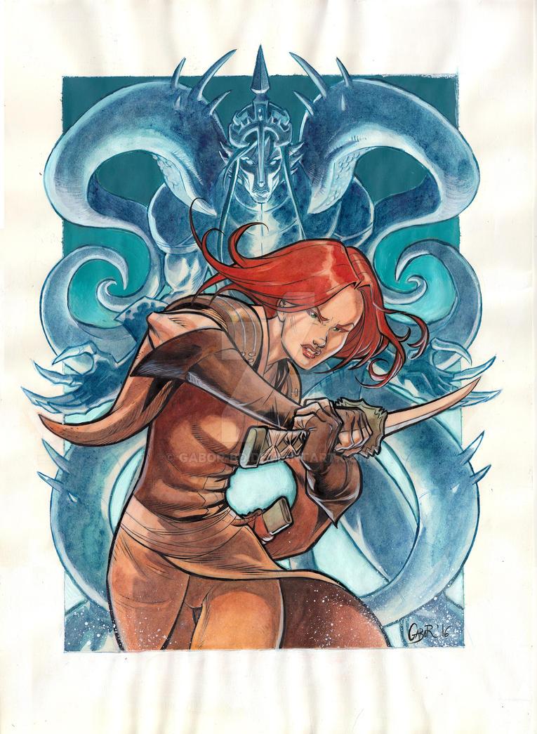 ISABELLAE Ilustration by Gabor-Bd