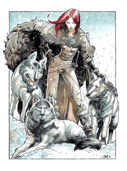 Isabellae with wolfes