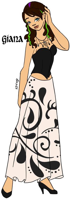 Thorns: Giana's Fancy Dress by Kairillia