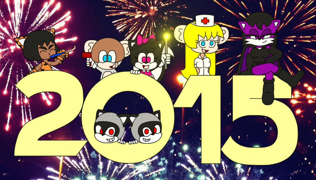 Happy New Year 2015 by Animekid0839