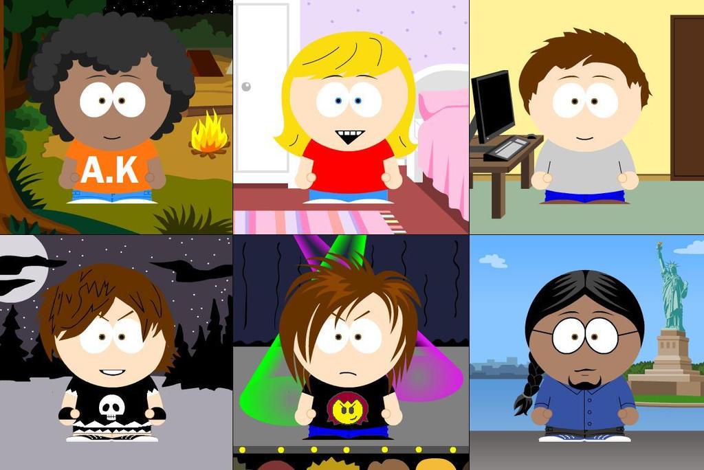 South Park A.K and Friends by Animekid0839