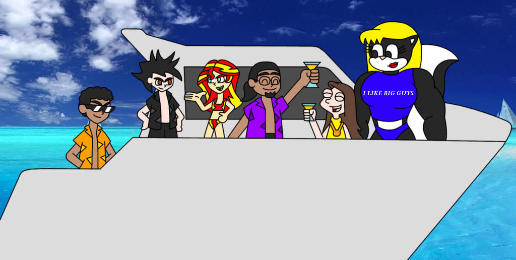 Summer Cruise by Animekid0839