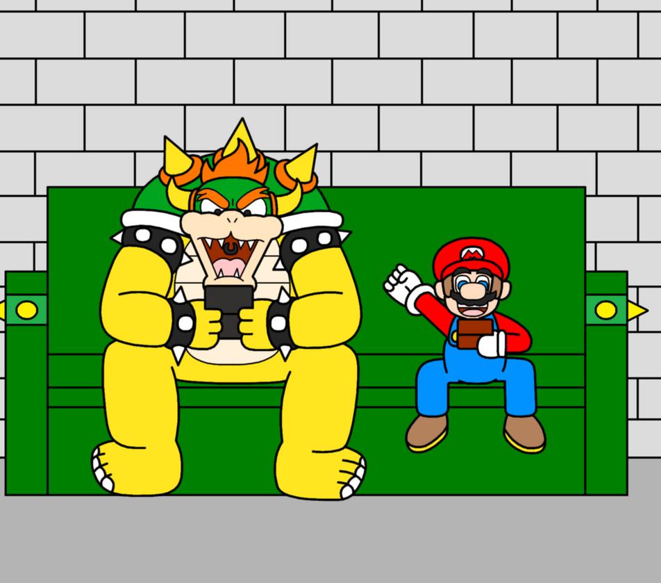 Wahoo! Mario The Winner! by Animekid0839